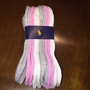 Polo Ralph Lauren Socks 6 pair pack
